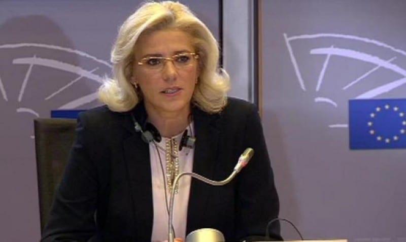 - corina cretu - CE: Finanțare de peste 500 de milioane de euro pentru finalizarea a 11 proiecte importante