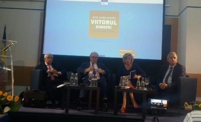 Comisarul european Corina Creţu, la Cluj, apel la Ministerul Transporturilor să pregătească proiecte mature pentru finanţare europeană