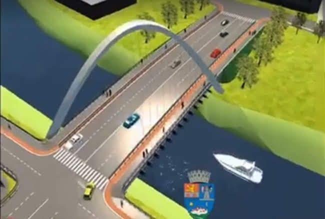 Podul Jiul din Timișoara, investiție de 5 milioane de euro, va fi construit într-un an și jumătate