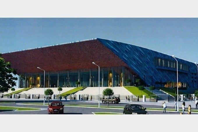 Sala polivalentă din Oradea, prima de această anvergură realizată de Compania Naţională de Investiţii