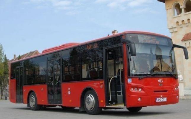 - alba 1 - Sistem GPS în autobuzele din Alba Iulia. Călătorii pot vedea în timp real traseul și succesiunea stațiilor