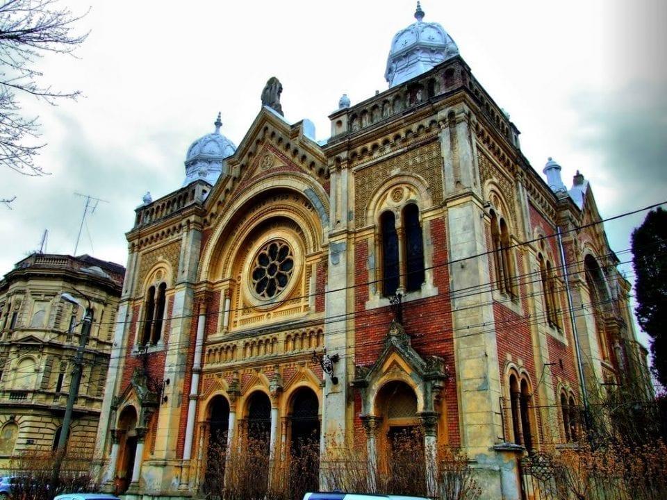 - Sinagoga din Fabric Timisoara Foto mapio - Patrimoniul cultural evreiesc din Timişoara, promovat internaţional