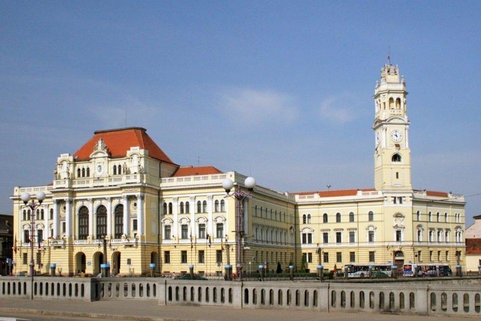 - Primaria Oradea 960x640 - Municipiul Oradea, încă un pas pentru a deveni stațiune turistică