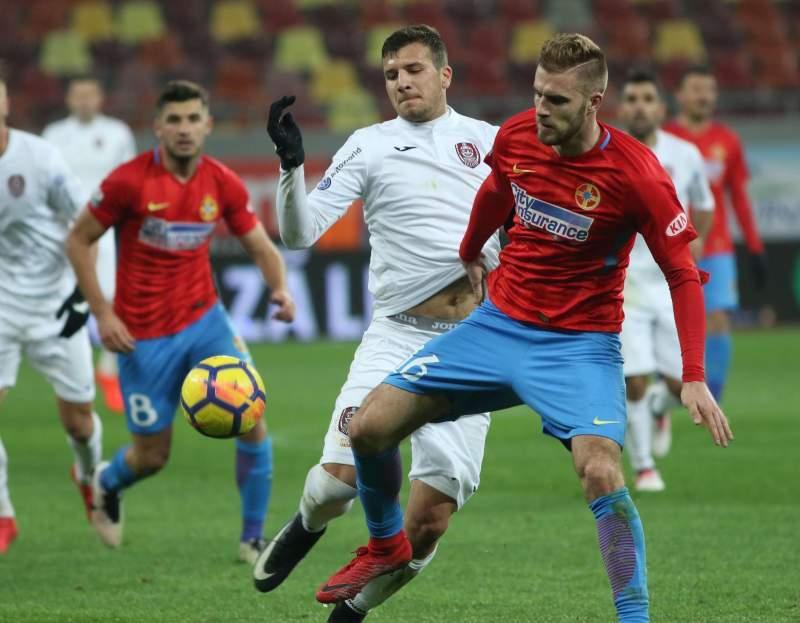 - imagine - CFR Cluj a câştigat titlul în Liga 1, iar FCSB trebuie să se mulţumească, pentru al patrulea sezon consecutiv, cu poziţia secundă