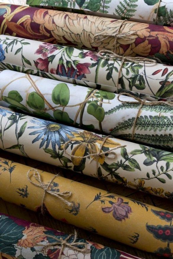 - Boho Floral 01 585x877 - MINDTHEGAP. În lumea tapetului, abajururilor și a textilelor care cuvântă