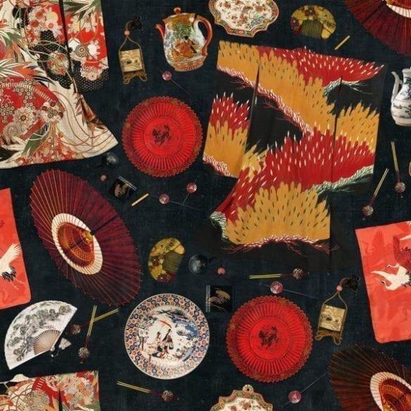 - MEMOIRS OF A GHEISHA 585x585 - MINDTHEGAP. În lumea tapetului, abajururilor și a textilelor care cuvântă