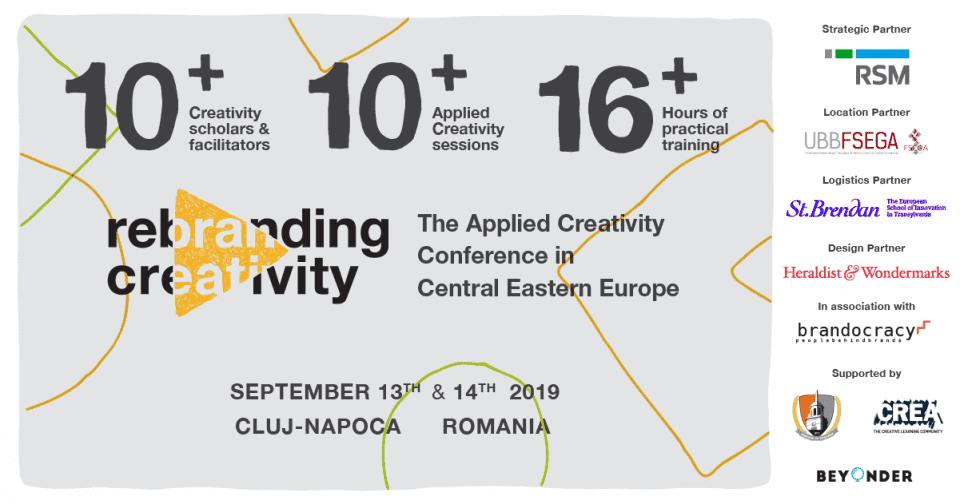 - Rebranding Creativity 2019 960x504 - Rebranding Creativity 2019 se mută în Cluj-Napoca