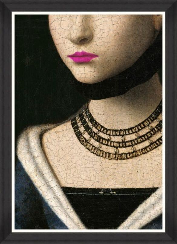 - The Dutches 70x100 fine art print with black frame 585x807 - MINDTHEGAP. În lumea tapetului, abajururilor și a textilelor care cuvântă