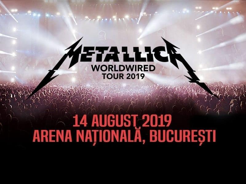 - metallica - Cât costă biletele la concertul Metallica din august 2019