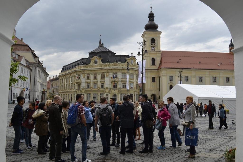 """- DSC0079 1024x683 - Săptămâna Internațională a Universității """"Lucian Blaga"""":Culturile lumii s-au împletit la Sibiu"""