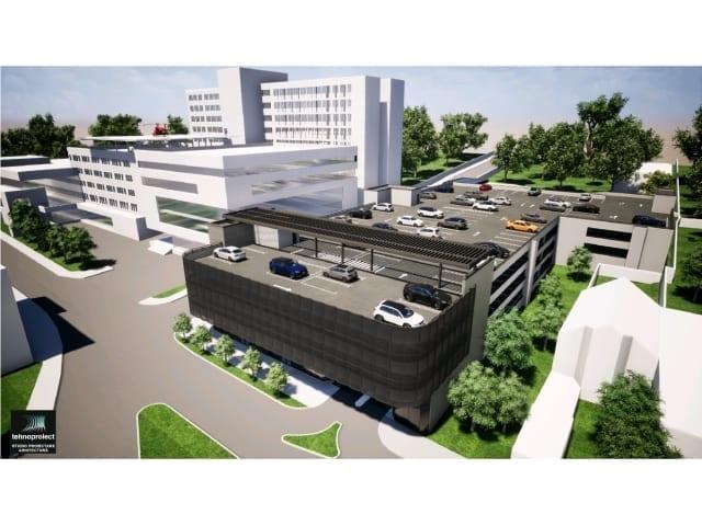 Parcarea Spitalului Judetean