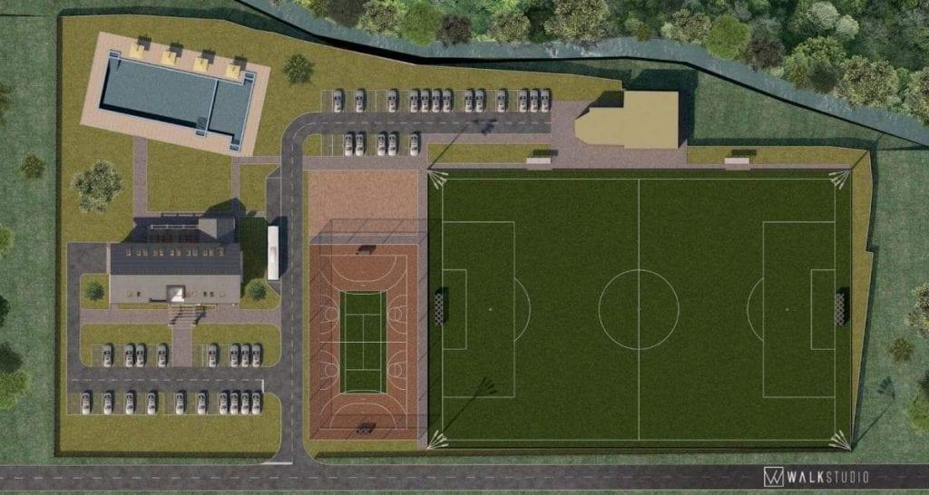 Planul Complexului sportiv