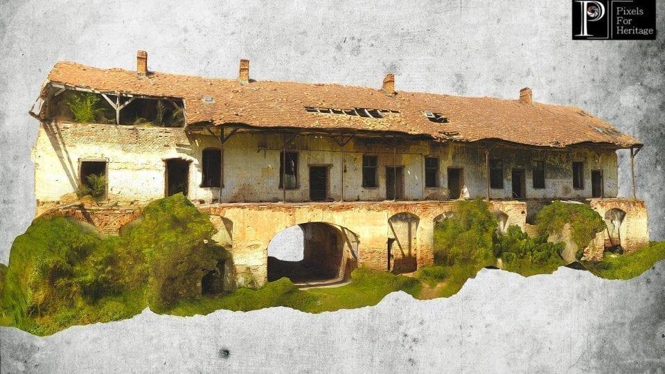 Conacul din județul Sălaj se află într-o stare avansată de degradare
