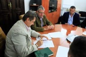 Semnarea contractului