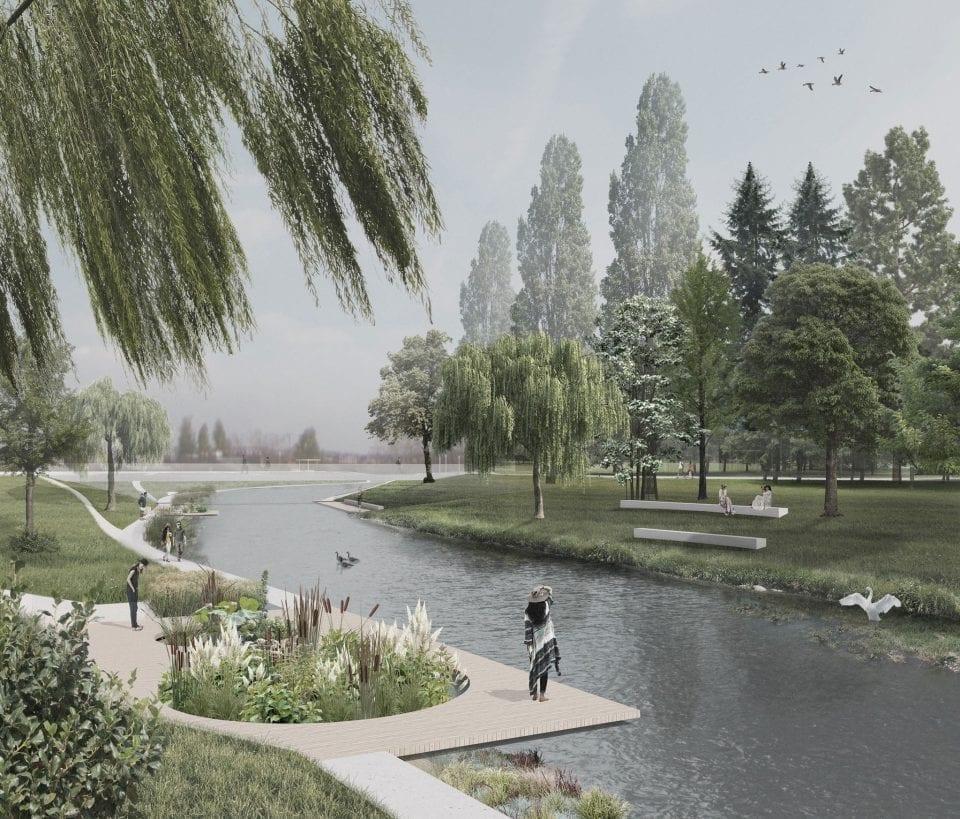 - Parcul Feroviarilor 960x819 - Clujul își revitalizează un parc cu 10 milioane de euro