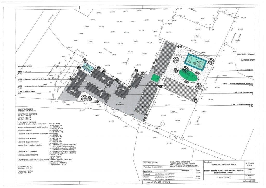 Planul Campusului scolar
