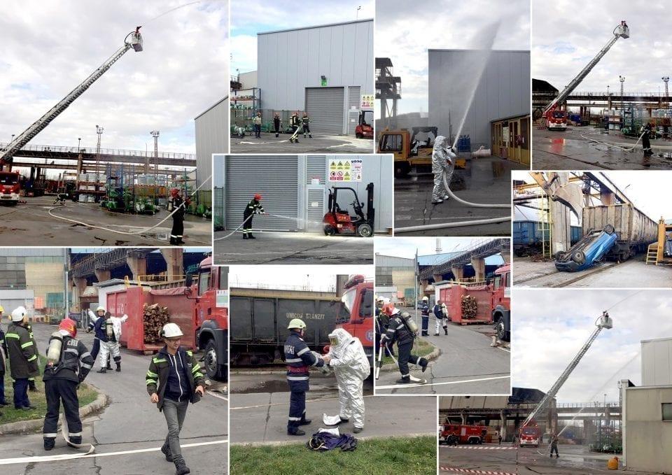 - Tenaris 2 960x679 - Uzina Tenaris a simulat un accident feroviar la Zalău