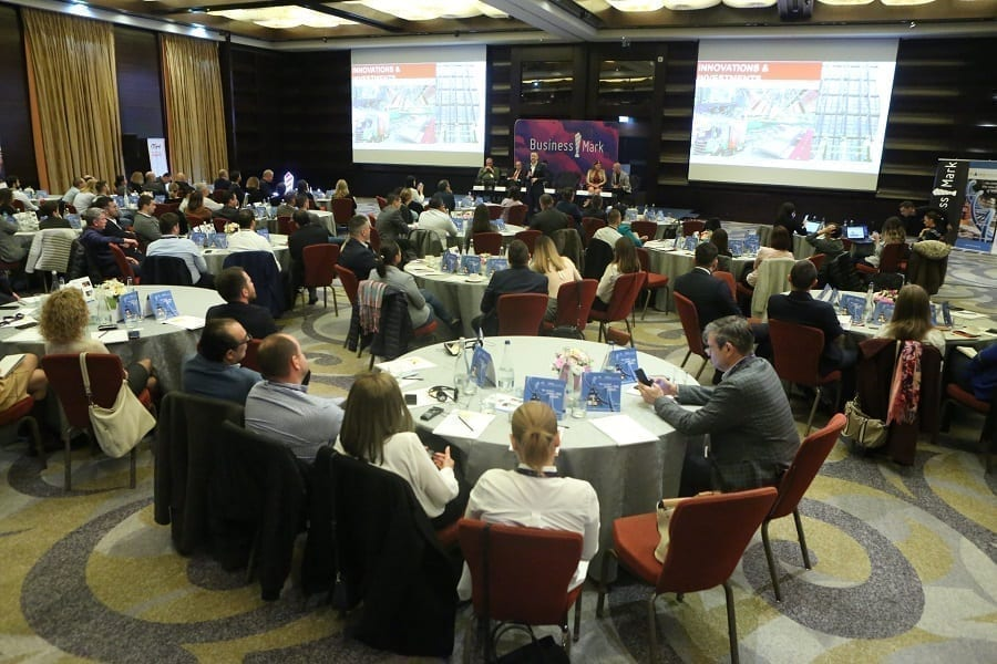 """- foto SEE Supply Chain - Eveniment marca BusinessMark: Optimizarea și automatizarea: cele două """"must-uri"""" în lanțul de aprovizionare"""
