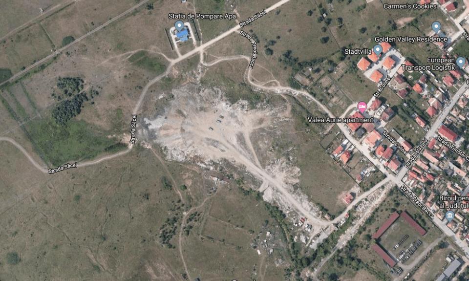 - parc tilisca 960x575 - Proiectul de creare a unui parc pe o fostă groapă de gunoi în Sibiu, scos la licitație