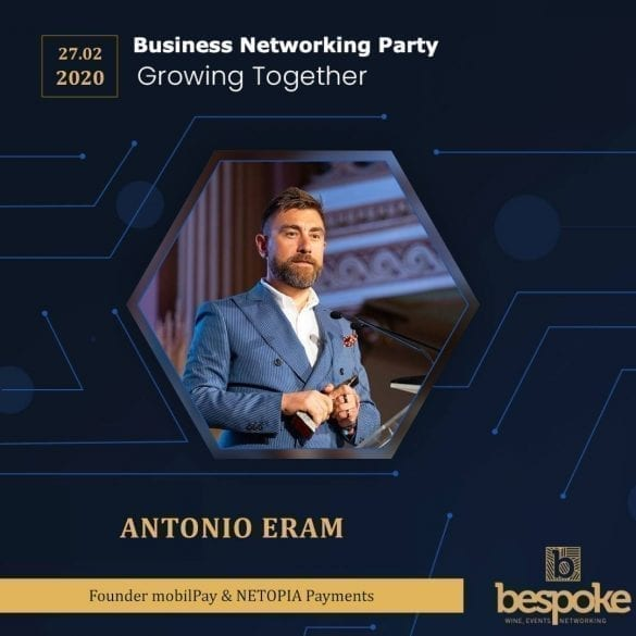 - 87387482 497744791166087 6761948437253455872 n 585x585 - Business Networking Party la Iasi
