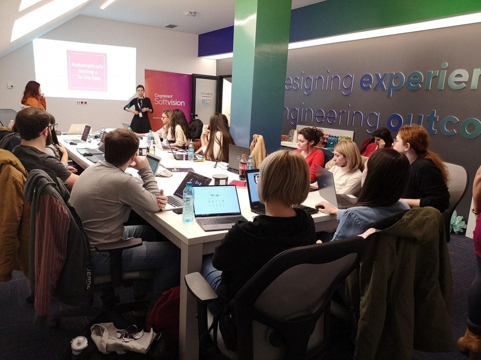 - Cognizant Softvision 960x720 - Americanii de la Cognizant instruiesc în IT tinerii din Baia Mare