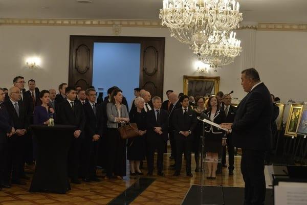 - Gala Diplomatilor - Gala Anuală a Corpului Diplomatic, ediția 2020