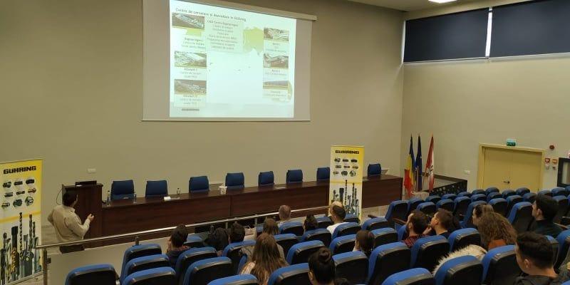 - Guhring - Concernul Guhring, parteneriat cu Universitatea Tehnică din Cluj