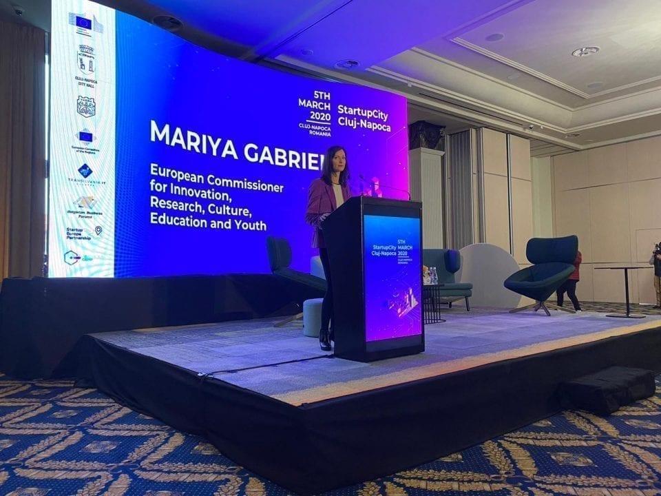 - Mariya Gabriel 960x720 - Clujul se vrea Capitala Europeană a Inovării