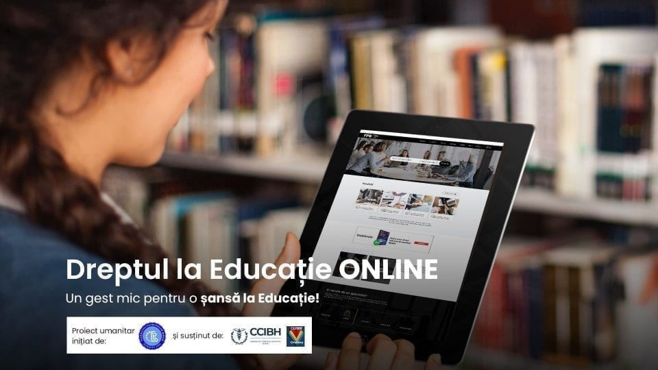 """- Tableta 960x540 - Patronatele bihorene au lansat apelul: """"Dreptul la educație la distanță"""""""