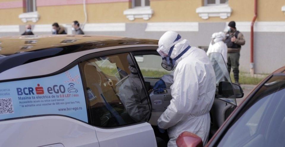 - BCR eGO 960x495 - BCR pune la dispoziția spitalelor și personalului medical mașini electrice