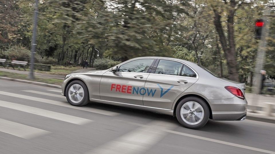 - Free Now 960x540 - Personalul medical din Cluj se poate deplasa gratuit cu taxiul