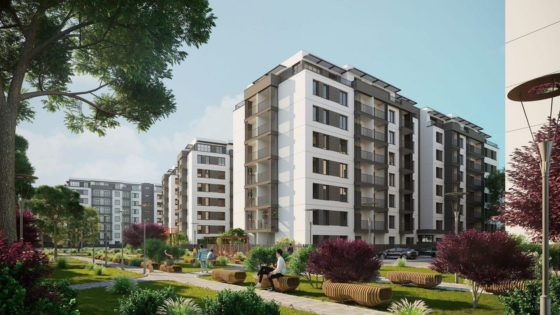 - H Pipera Lake 2 - Hagag Development Europe finalizează structura primelor trei imobile din proiectul H Pipera Lake