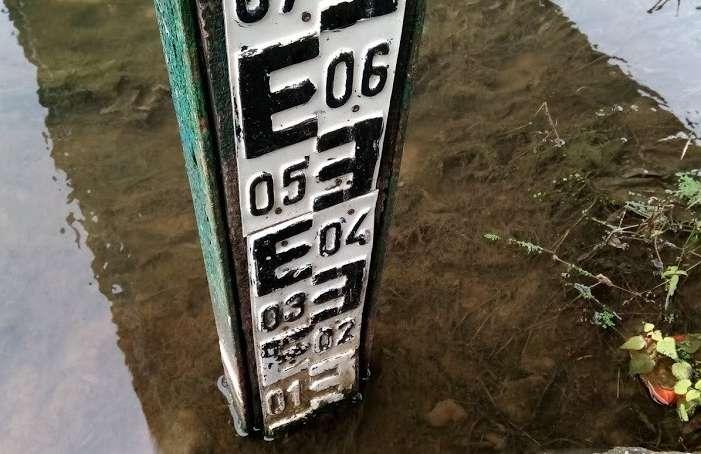 - nivelaapa1 - Seceta la maxim: Lipsa precipitaţiilor din ultima perioadă lasă râurile din zona de vest fără trei sfert din debite